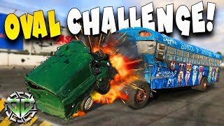 OVAL CHALLENGE SUPERVAN DESTRUCTION  : Next Car Game: Wreckfest Gameplay : Races & Wrecks