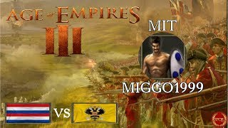 Age of Empires 3 //  #03 Profispiel mit Colonel miggo1999 // Gaius kommentiert