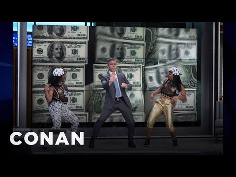 Jodie Foster: George Clooney Demanded To Dance  - CONAN on TBS