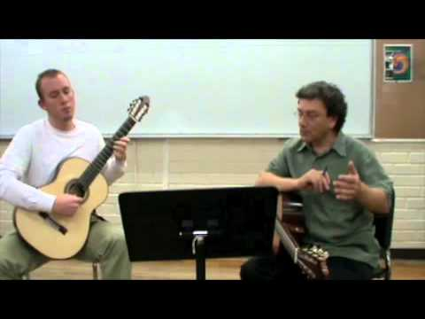 David Tanenbaum Master Class part 2