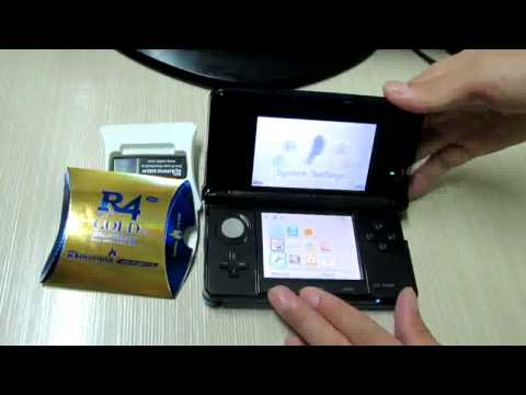 R4 Gold Pro 2013 Version works fine on 3DS 6.2.0-12U