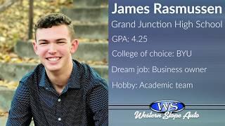 Western Slope Auto Student of the Week: James Rasmussen