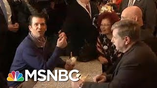 Donald Trump Jr. Talks To Press While Campaigning For PA GOP Candidate | MSNBC