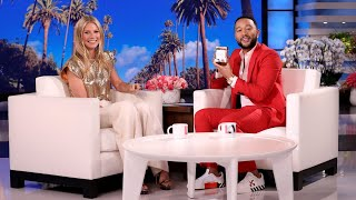 Gwyneth Paltrow Explains Her Much-Publicized Goop Candle to John Legend