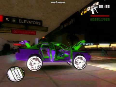 GTA SA Chevy Impala Donk