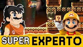 YAMCHA QUIERE REVANCHA 👊 - SUPER EXPERTO NO SKIP | Super Mario Maker - ZetaSSJ