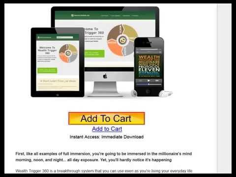 Wealth Trigger 360 Review. Dr. Joe Vitale. Dr. Steve G. Jones Wealth Trigger 360. Wealth Trigger 3.0