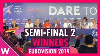 Eurovision 2019: Semi-Final 2 Winners / Qualifiers press conference