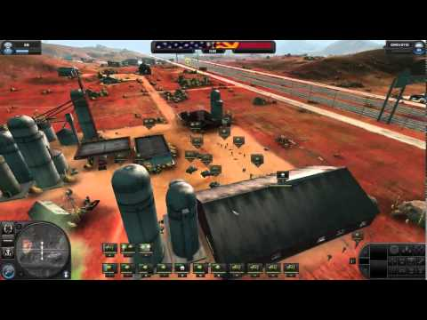 world in conflict gameplay with andrew