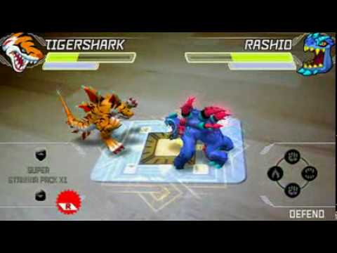 INvizimals combate tigershark