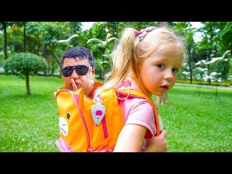 Настя и папа - самые лучшие новые серии Сборник видео для детей Compilation funny videos for kids