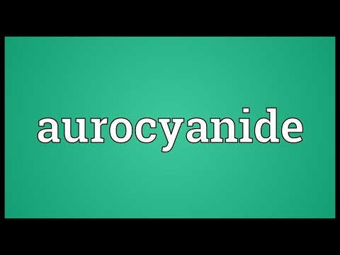 Header of aurocyanide