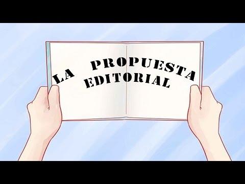 Cómo redactar una propuesta editorial