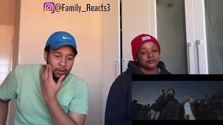 🤞🏾Family reacts🤞🏾to Sjava- Abangani ft Emtee & Saudi (Official Music Video)