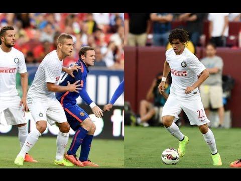 Nemanja Vidic And Dodò vs Manchester United(30/07/2014)HD 720p by轩旗