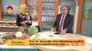 PROF.DR.SARAÇOĞLU KIŞIN TÜKETİLMESİ GEREKEN BESİNLERİ ANLATIYOR