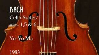 Download Lagu Bach Cello Suites nos 1,5 & 6 Yo Yo Ma 1983 Gratis STAFABAND