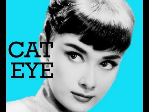 pin up girl 1960 39 s cat eye look sixties makeup youtube. Black Bedroom Furniture Sets. Home Design Ideas