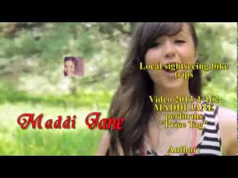 Video* 2013-1-162   Maddi Jane Performs price Tag video