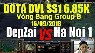 Dota DVL SS1   Group B DepZai vs Hà Nội 1 16/9/2018