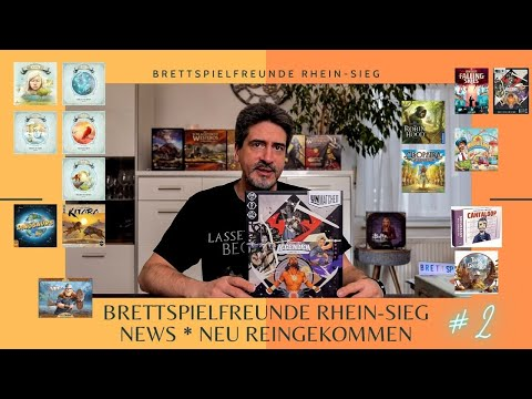 Brettspielfreunde Rhein Sieg News #1 * Neu reingekommen * 12 Spiele kurz dargestellt
