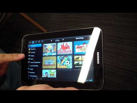 Universal Remote Control by Samsung Galaxy Tab 7.0 Plus!!!