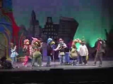 Big Nazo creates a stage spectacle at the Providence Performing Arts Center.