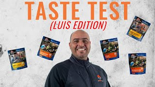 Freeze Dried Food Taste Test (EXTRA): Luis Edition!