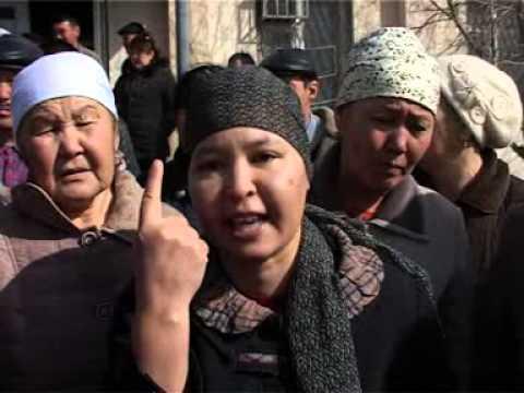 В Мангистауской области жители поселка Жетыбай протестуют  из-за отсутствия работы