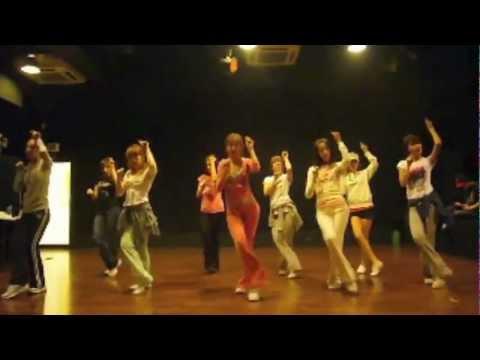 Snsd [chocolate Love] Dance Sm Practice Room Sep 28, 2009 Girls' Generation video
