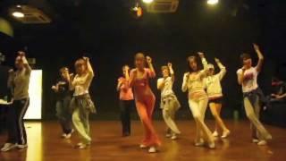 SNSD [Chocolate Love] Dance sm practice room Sep 28, 2009 GIRLS' GENERATION