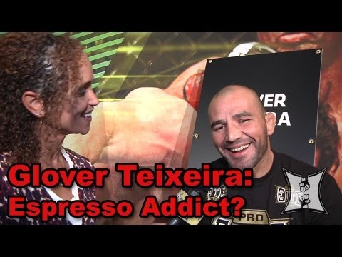 UFC 160s Glover Teixeira Talks Te Huna Bout Says Starbucks Is Like Melatonin