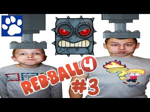 RED BALL 4 ПРОХОЖДЕНИЕ ИГРЫ [#3] | Приключения Красного Шарика | Матвей Котофей новая серия РЕД БОЛ