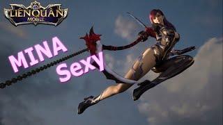 ❤Không ngờ Mina sexy và xinh đến như vậy Raz - Violet nữ hoàng pháo hoa Nhạc phim Liên Quân EDM