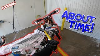 How To Wash Your KTM | Lunch with a Subscriber!