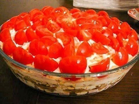 Салат красная шапочка рецепт с фото