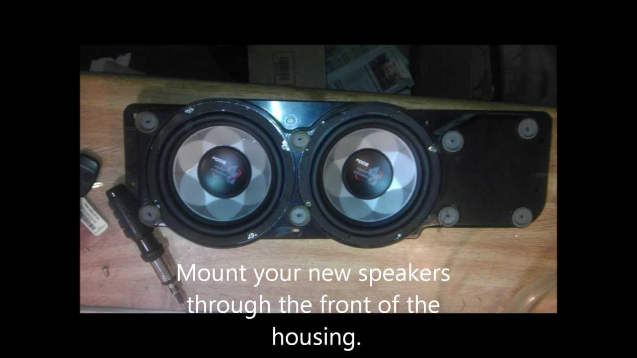 how to tell if home speakers are blown