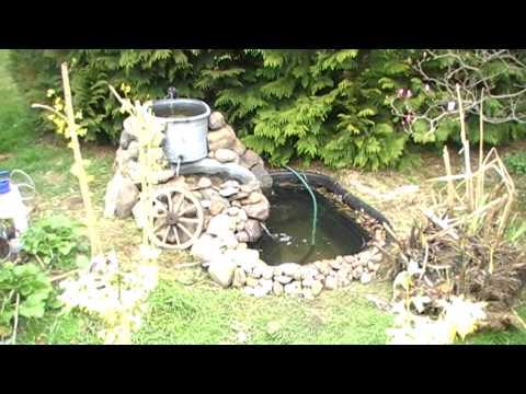 Gartenteich Und Bachlauf Selbst Gebaut ;)