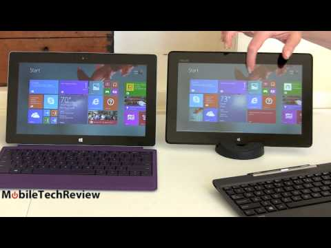 Microsoft Surface 2 vs. Asus Transformer Book T100 Windows 8 Tablet Comparison Smackdown