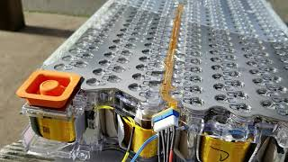Unbox & Close-ups of Tesla Model S 24V Battery Module & Charger Connection for RV / Campervan