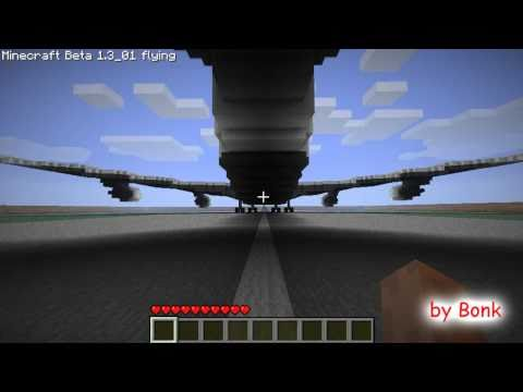 Minecraft Airplane Boeing 747-200 Music Videos