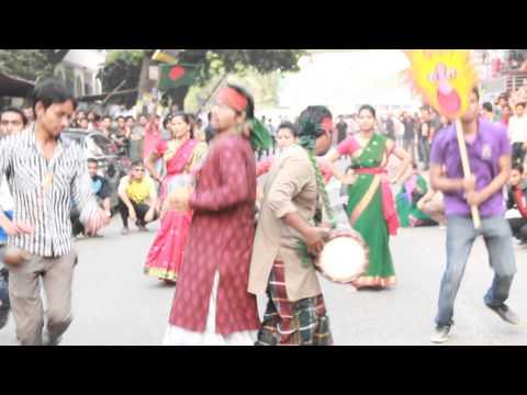 ICC T20 World Cup Flash Mob 2014 - Dhaka City College (National University of Bangladesh)