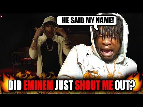 Eminem Shouted Me Out?! | Eminem -