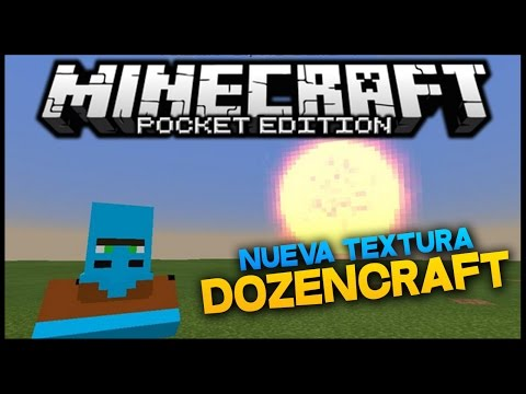 DOZENCRAFT! - Nueva Textura Minecraft PE 0.11.0 Beta
