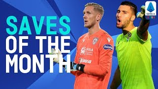 Olsen Flies High & Strakosha Is Key For Lazio | Saves Of The Month | November 2019 | Serie A