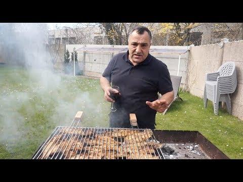 Шашлык из  рыбы Дорадо рояль с соусом из тархуна