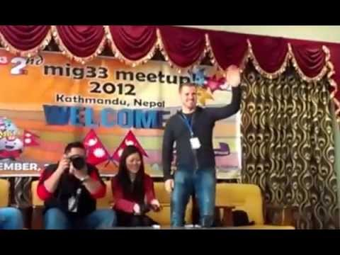 Nepal Mig33 Meet Up + Picnic + Seminar 2012  Kathmandu Video  By Nepali-xxx (getnep) video