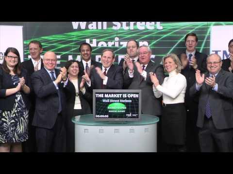 Wall Street Horizon Inc. opens Toronto Stock Exchange, February 18, 2015