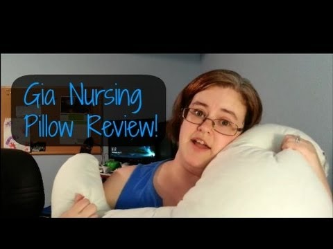 Gia Nursing Pillow Review  - VEDA Day 1 -  darcyandbrian