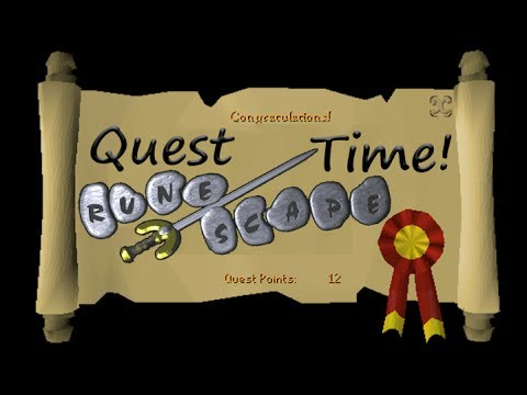 Old School Runescape OSRS! Getting even more quests done!